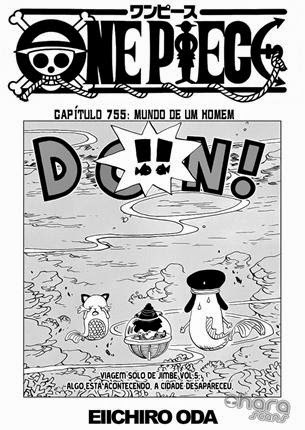 One Piece Mangá 755 Português