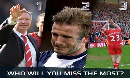 Ferguson, Beckham, Carragher, Owen, legenda sepakbola dunia
