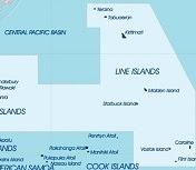 Kiribati in Pacific context.