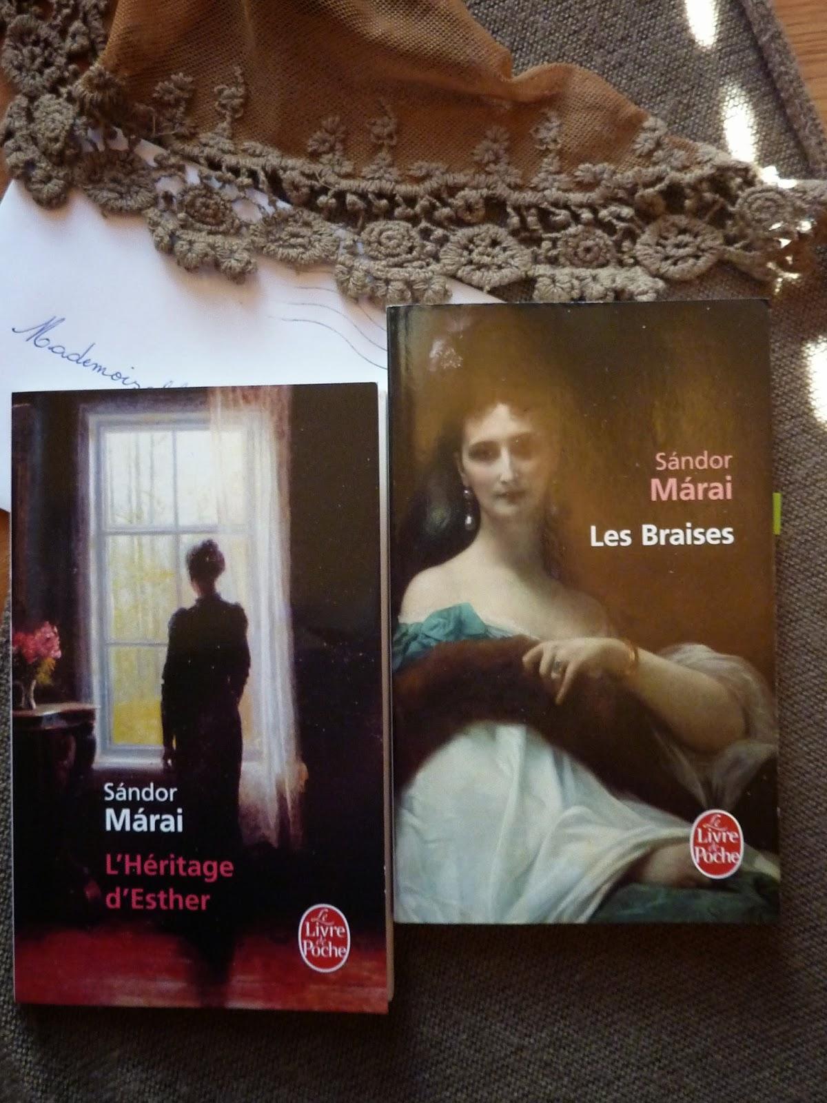 L'héritage d'Esther et Les braises - Sandor Marai