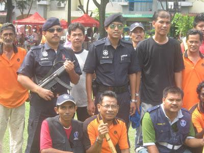Aktiviti cegah jenayah 16 august 2009
