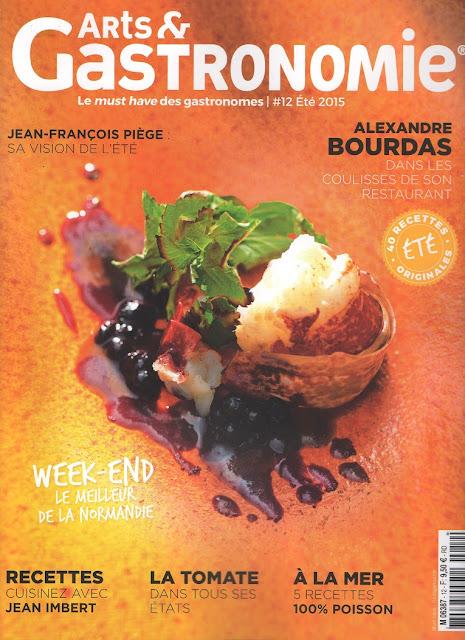 Mon livre « La Main à la pâte – Pâtisserie Mode d'emploi » dans le magazine Arts & Gastronomie !