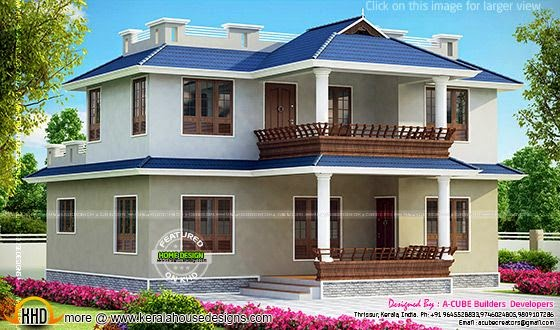 Kerala model home