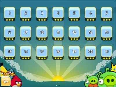 Angry Birds Level 1