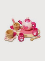 Wooden tea set from Asda