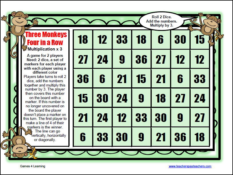 Available now at - Free online times tables games ...