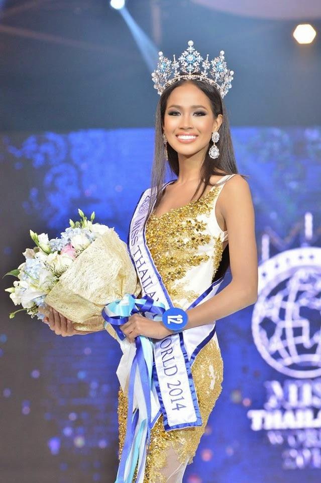 Miss Thailand World 2014 winner Maeya Nonthawan Thongleng
