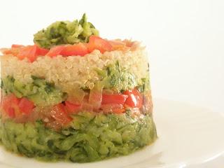 receta de pisto con quinoa.
