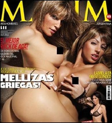 Argentinas Desnudas Revista Hombre Filmvz Portal