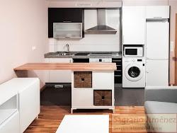 Apartamento amueblado a estrenar junto a Ronda de Nelle-Parque de Santa Margarita, garaje. 580€