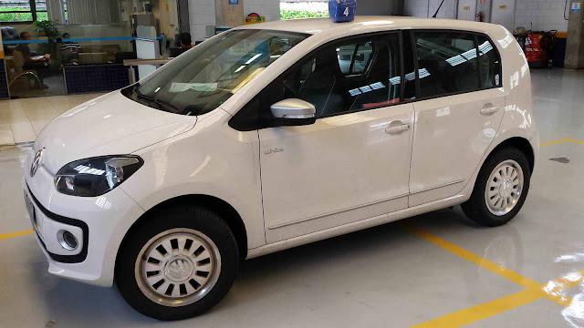 Volkswagen up! I-Motion - consumo