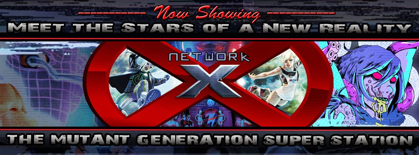 NETWORK X: The Mutant Generation Super Station