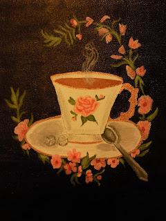clipart vintage tea cup