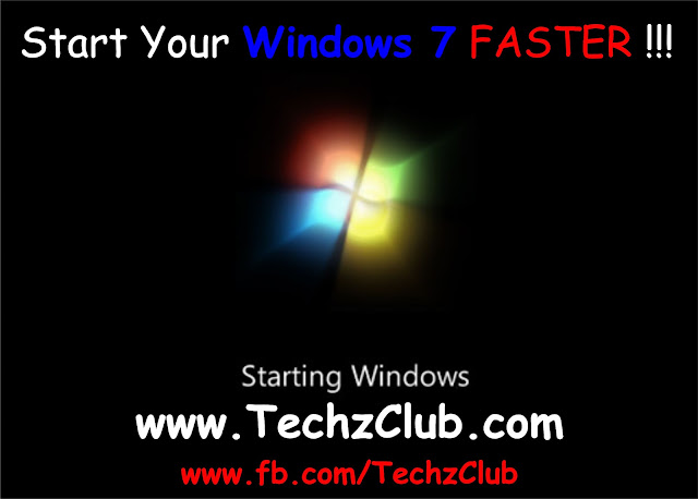 How to Speed Up Windows 7 StartUp?