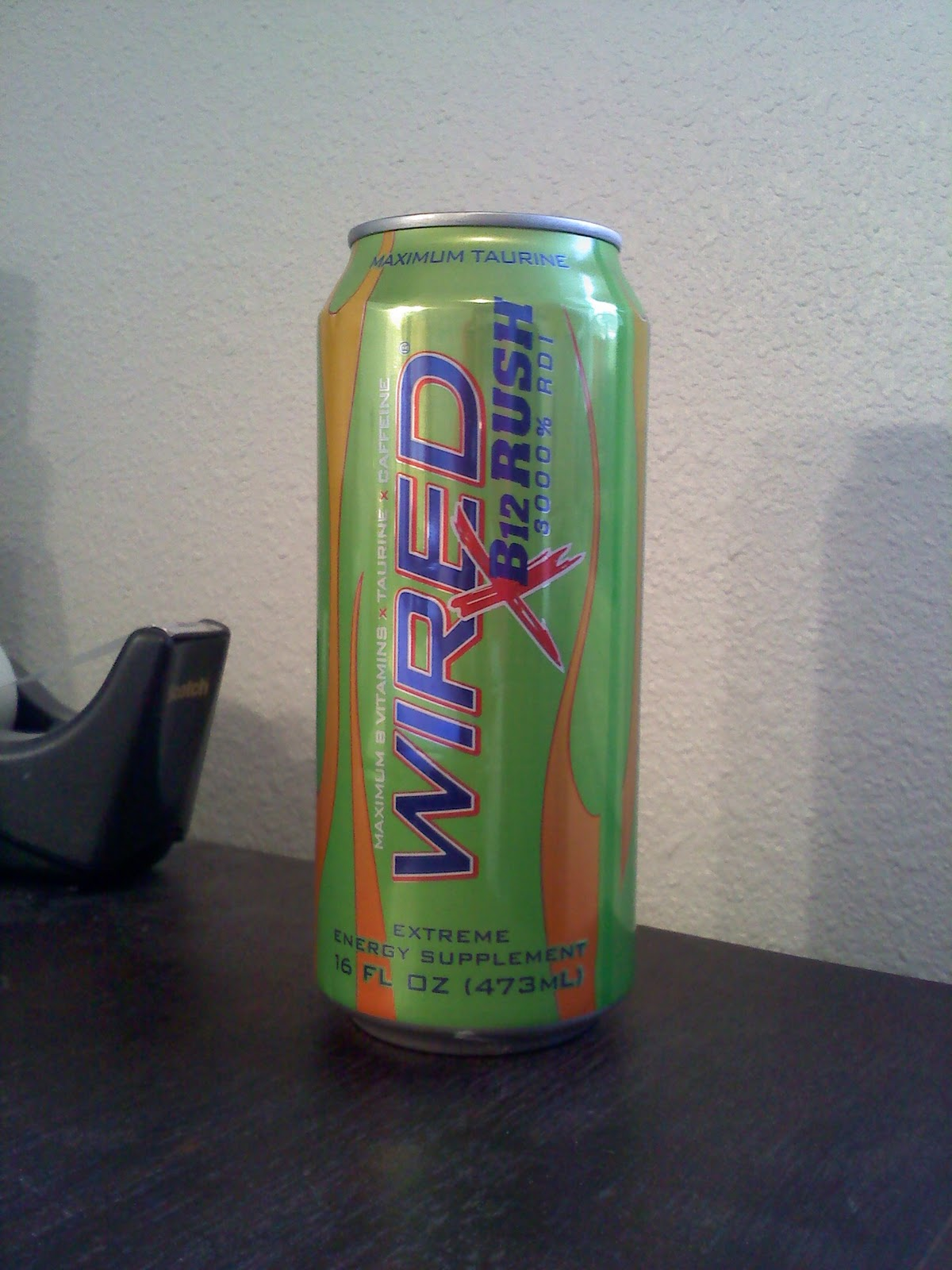 CAFFEINE!: Review for Wired X B12 Rush