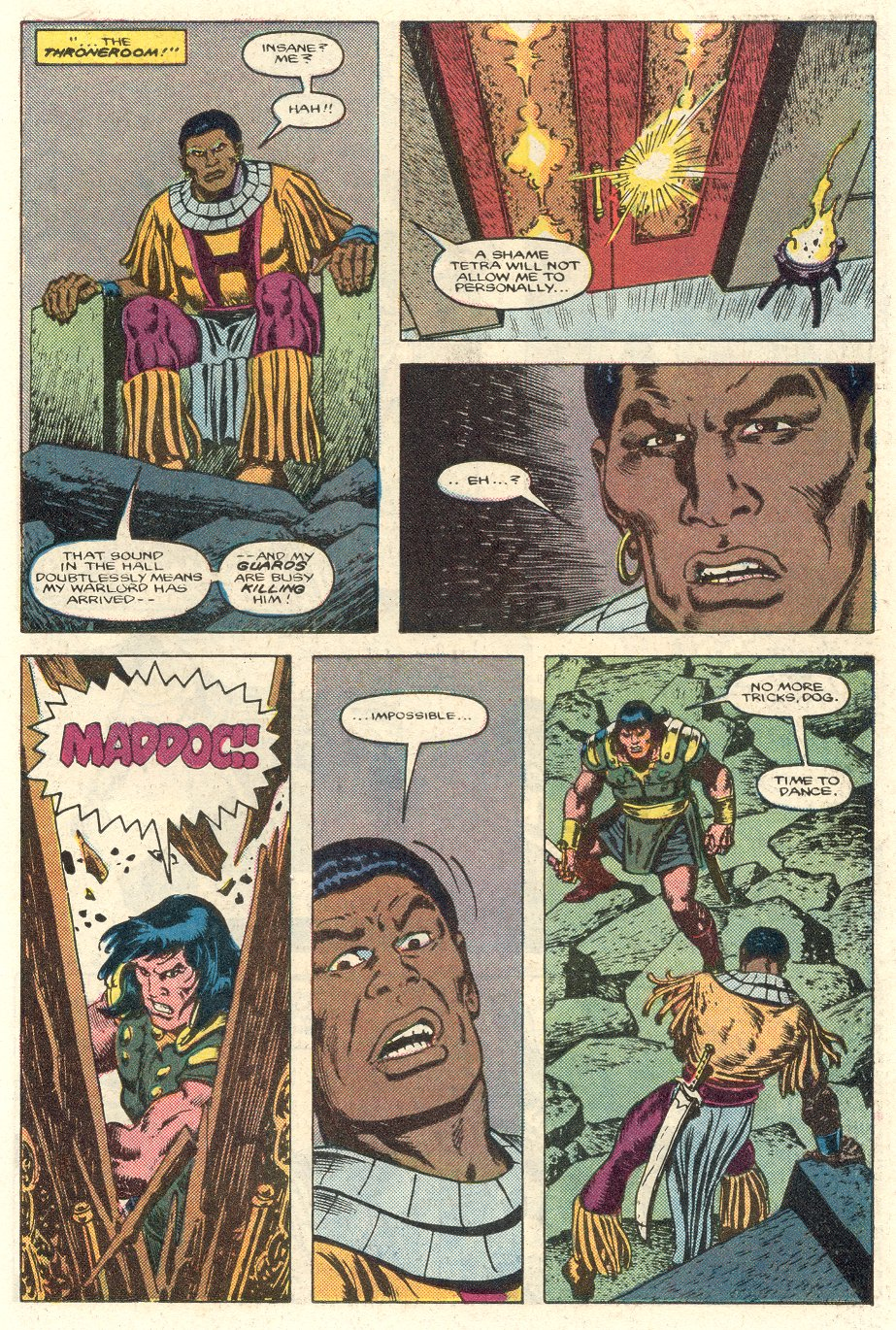 Conan the Barbarian (1970) Issue #184 #196 - English 14