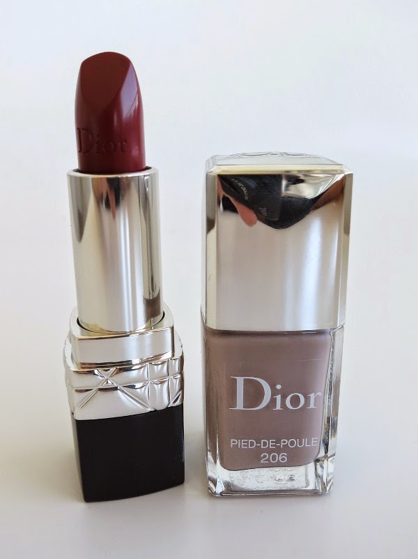 Rouge Dior and Dior Vernis Pied-de-Poule