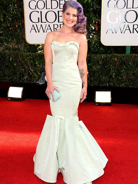 Kelly Osbourne golden globes 2013