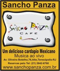 Sancho Panza Café - Teresópolis-Rj