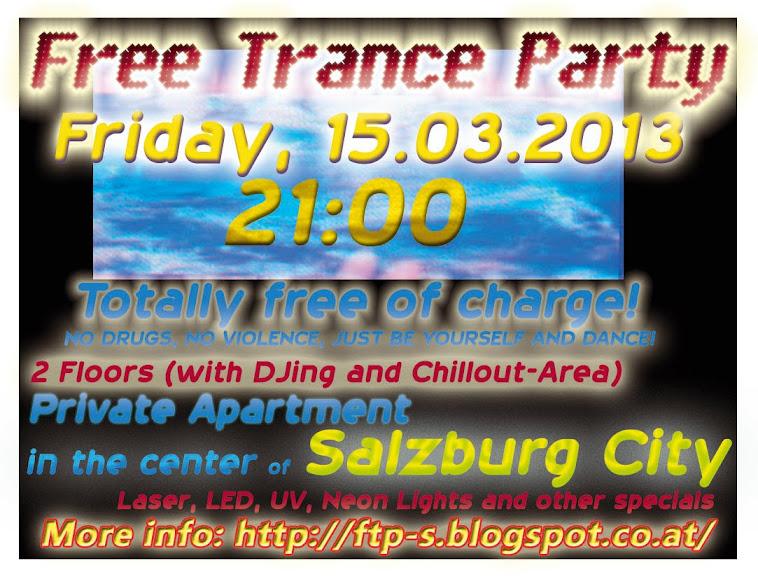 Free Trance Party Salzburg