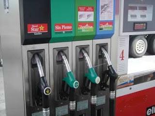 Gasolina sin plomo y los octanos