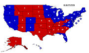 The Republican 180 electoral vote floor, so to speak, is pretty well as bad .