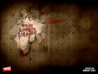 American Horror Story Distorded Wall Photo Manipulation HD Wallpaper