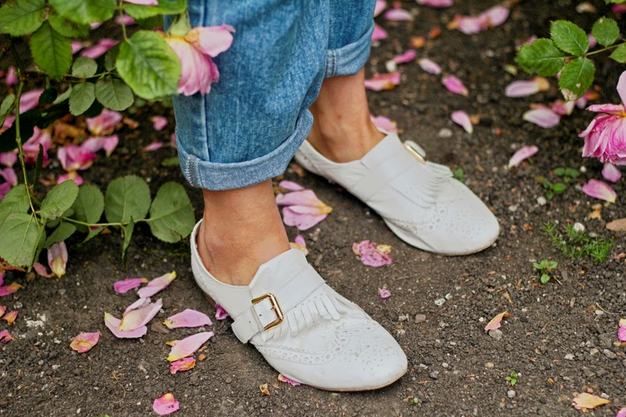 shoes roses inspiration