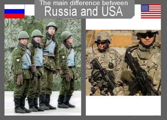 The Usa Russian 96