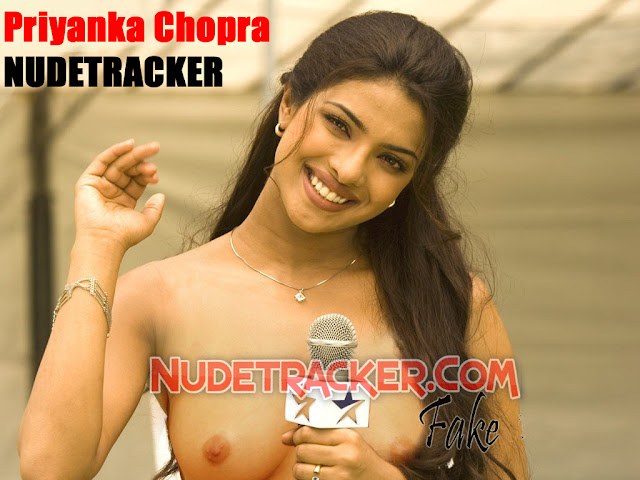 Priyanka Chopra Topless Showing Full Nude Boobs To Her Fans fake ...