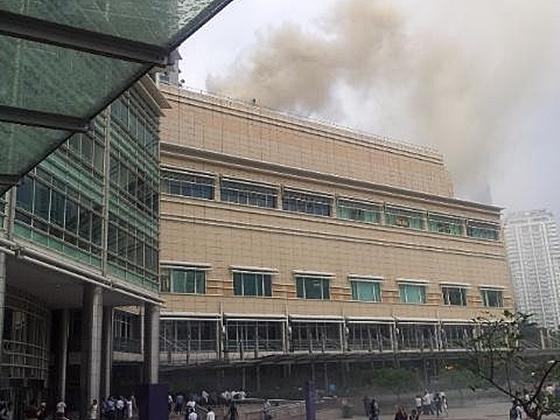gambar restoran chinoz klcc terbakar