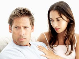 Why Some Women Attract Bad Relationships? - sad couple - sad man