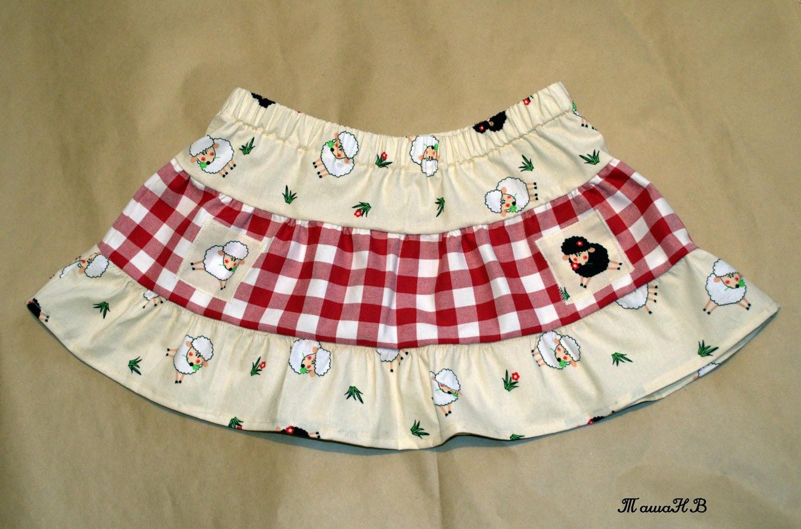Летняя юбка своими руками 47