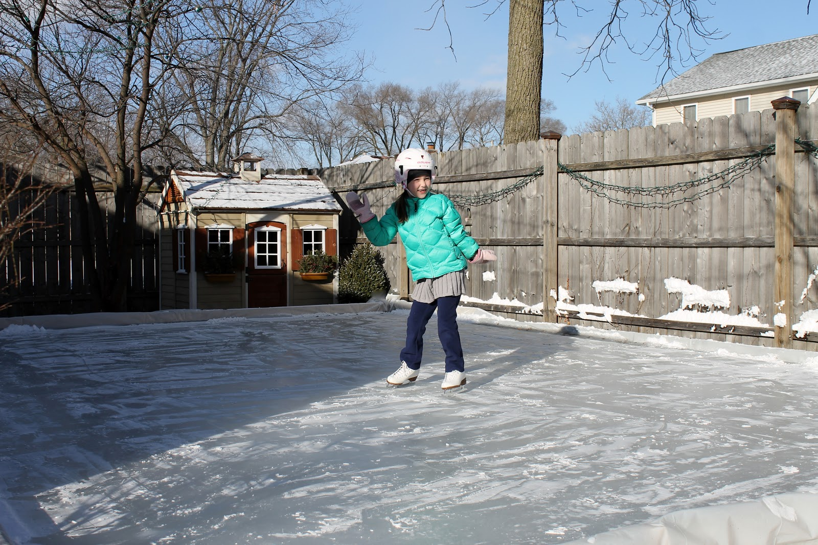 sixty fifth avenue backyard ice skating