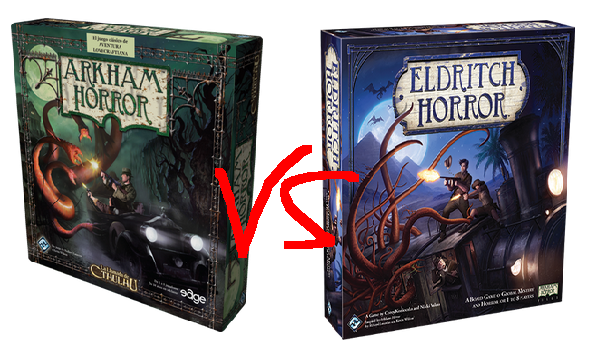 Eldtrich Horror vs arkham horror
