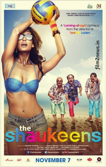 The Shaukeens (2014) Bollywood Movie First Look Poster