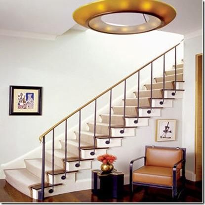 Duplex house staircase designs home designs Inside staircase in houses