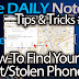 Galaxy Note 2 Tips & Tricks Episode 89: How to Find Your Lost Phone with Android Device Manager