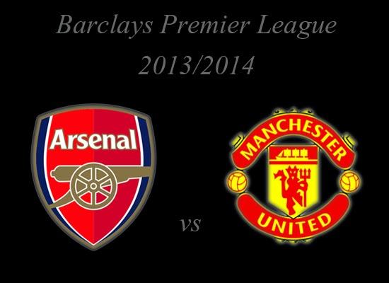 Arsenal vs Manchester United Barclays Premier League 2014