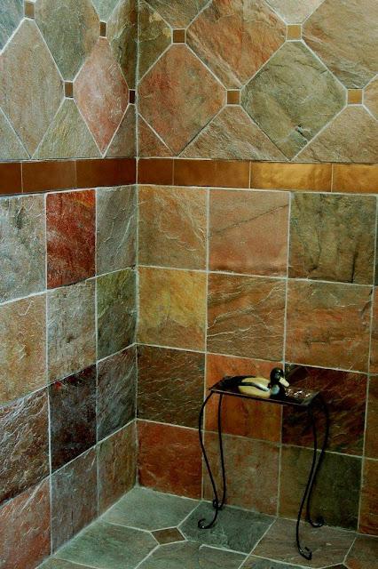 Pisos Para Baño Rusticos:Rustic Bathroom Shower Tile Ideas