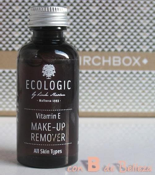 Desmaquillante Vitamina E de Ecologic cosmetics