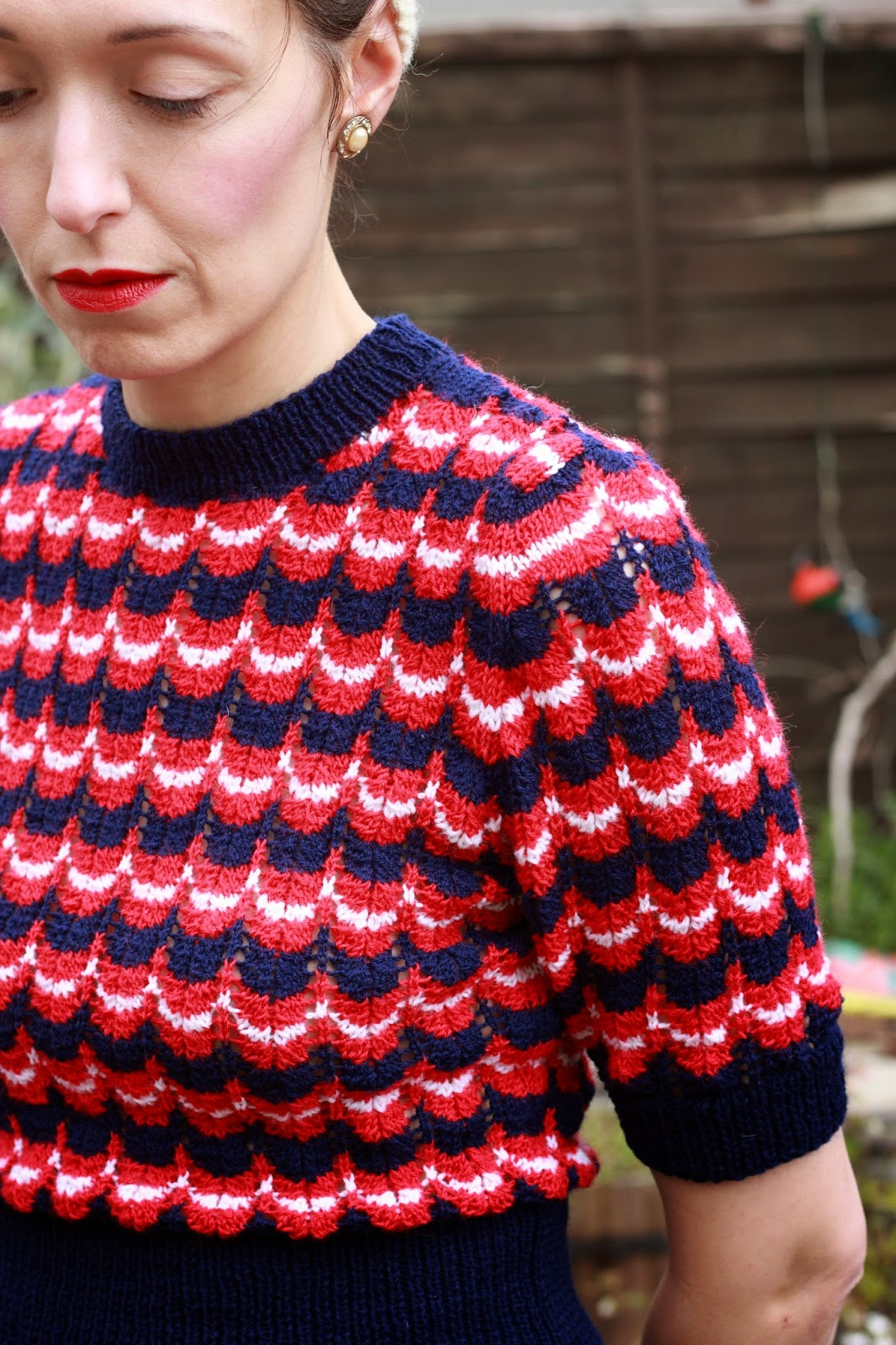 Theodora Goes Wild: VE Day and My Victory Jumper