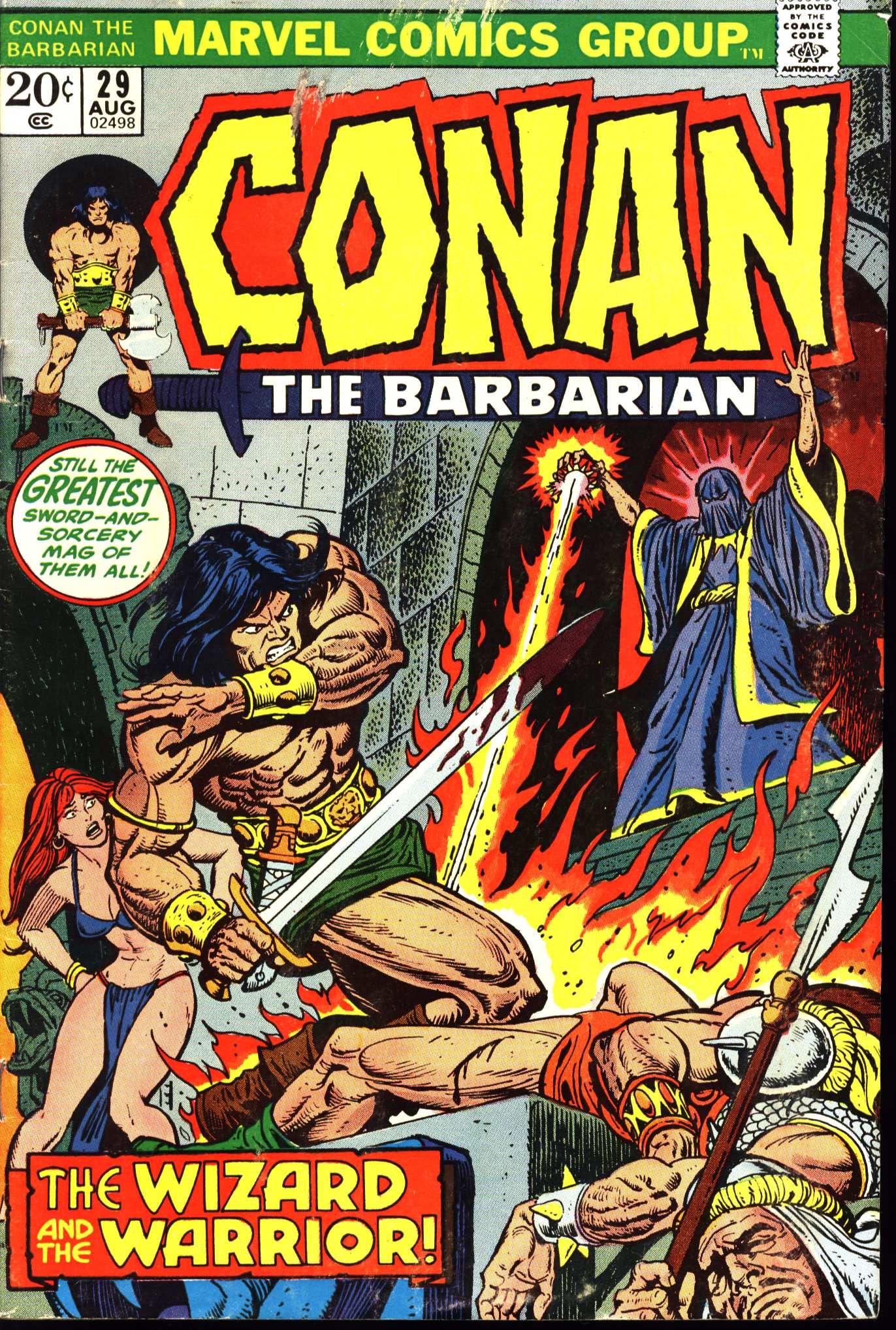 Conan the Barbarian (1970) 29 Page 1