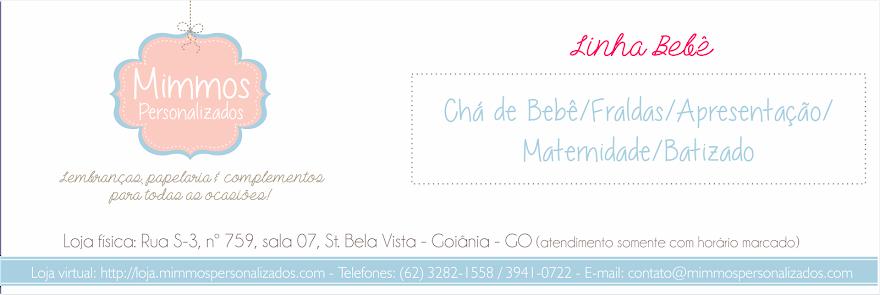 Mimmos Personalizados - Linha Bebê