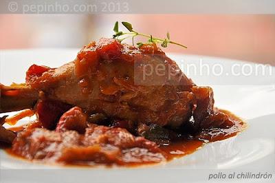Pollo al chilindrón (pepinho.com)