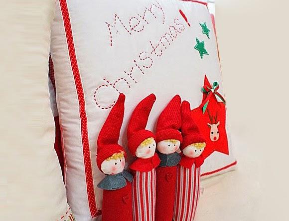 Hướng dẫn cách làm gối handmade merry christmas đẹp đơn giản - khâu may gối handmade vải nỉ đẹp