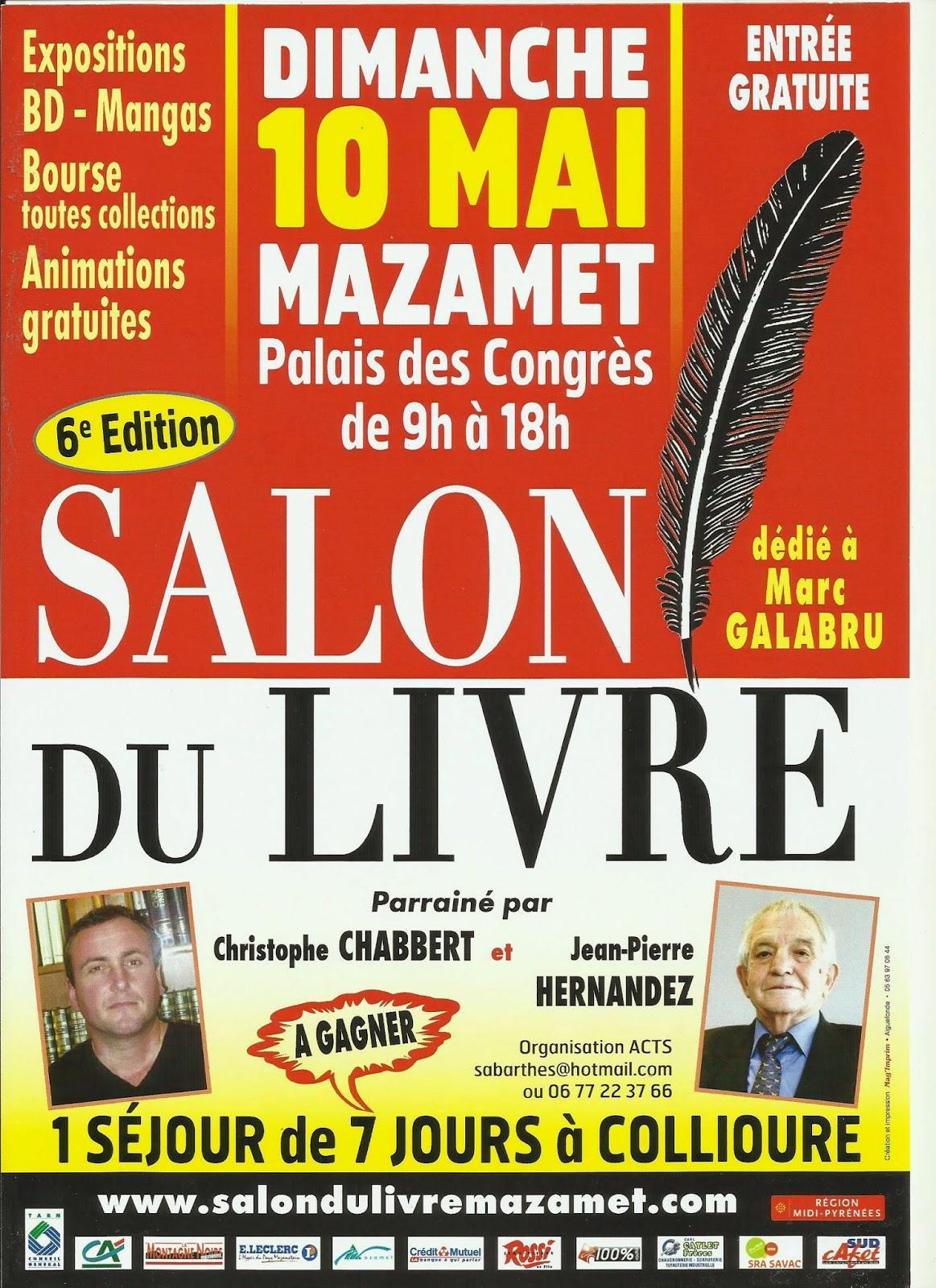 Michel fourcade actualit s - Salon du livre brive 2015 ...