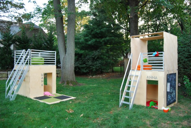 Outdoor Playhouses Toy : Modern modular eco friendly indoor and outdoor playhouses