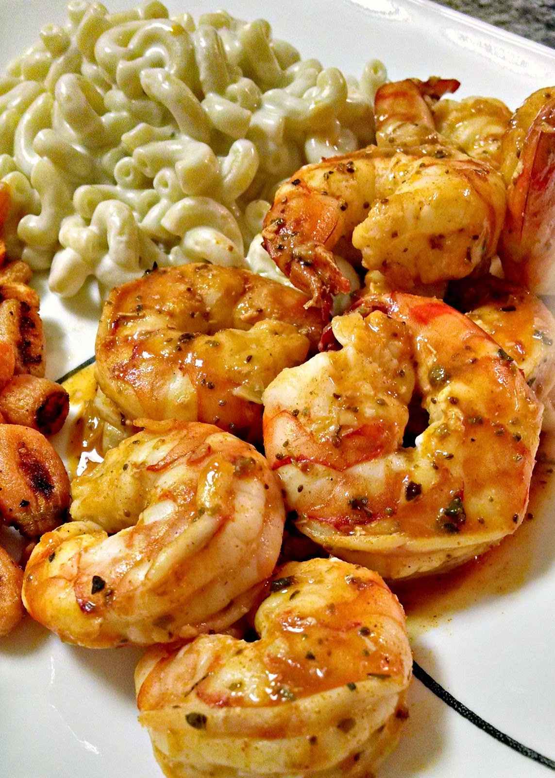 ... roasted garlic orange aioli garlic roasted shrimp with red peppers and