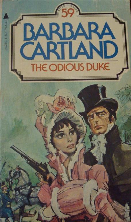 Barbara Cartland – The Odious Duke
